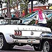 Cruise Line Art Print