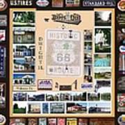 Cruise Night Poster Digital Art Art Print