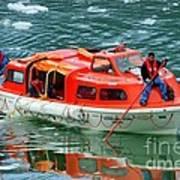 Cruise Ship Tender Boat  Art Print