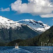Cruising Alaska Art Print