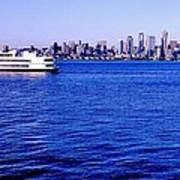 Cruising Elliott Bay Art Print