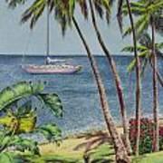Cruising In Paradise 2 Art Print