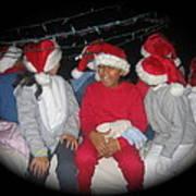 Crying Junior Santa Christmas Parade Eloy Arizona 2005-2013 Art Print