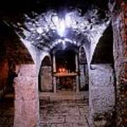 Crypt Of Church Of Holy Sepulchre Art Print