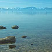 Crystal Clear Lake Tahoe Art Print