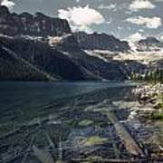 Crystal Clear Mountain Lake Art Print