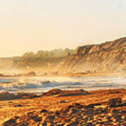 Crystal Cove At Sunset 1 Art Print