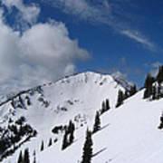 Crystal Mountain Bluest Sky Art Print