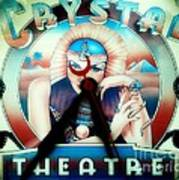 Crystal Theatre Art Print