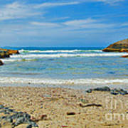 Crystal Waters - Port Macquarie Beach Art Print
