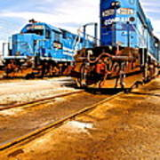 Csx Railroad Art Print