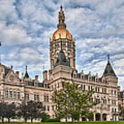 Ct State Capitol Building Art Print