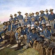 Cuba - Tenth Cavalry 1898 Art Print