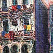 Cuba Edificios Art Print