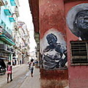 Cuban Street Art 3 Art Print