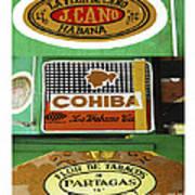 Cubanos Art Print