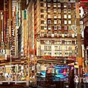 Grand Central And 42nd St Art Print