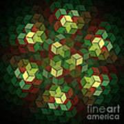 Cubix Art Print