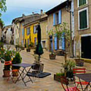Cucuron In Provence Art Print