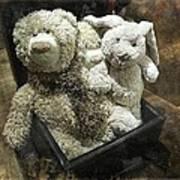 Cuddle Toys Art Print