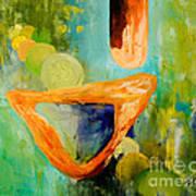 Cue L'orange Art Print