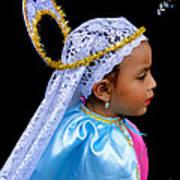 Cuenca Kids 363 Art Print by Al Bourassa