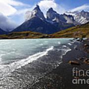 Cuernos Del Paine Patagonia 3 Art Print