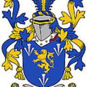 Culligan Coat Of Arms Irish Art Print
