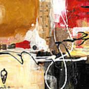 Cultural Abstractions - Hattie McDaniels Art Print