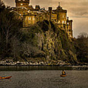 Culzean Castle Scotland Art Print by Alex Saunders