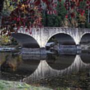 Cumberland Falls Bridge Art Print