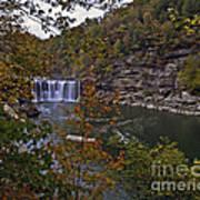 Cumberland Falls E Art Print
