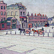 Cumberland Market North Side Art Print by Robert Polhill Bevan