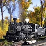 Cumbres And Toltec Railroad Art Print