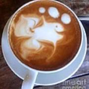 Cup Of Fish Art Print