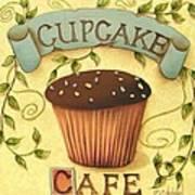 Cupcake Cafe Art Print