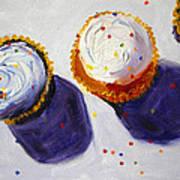 Cupcake Convention Art Print