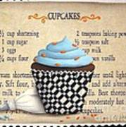 Cupcake Masterpiece Art Print by Catherine Holman