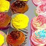 Cupcake Suite Art Print