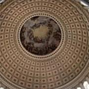 Cupola Capitol Washington Dc Art Print
