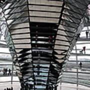 Cupola Reichstag Building II Art Print