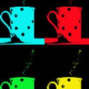 Cups Art Print