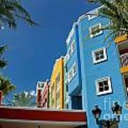 Curacaos Colorful Architecture Art Print