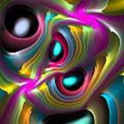 Curbisme-77 Art Print