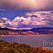 Curecanti Autumn Blue Mesa Colorado Art Print