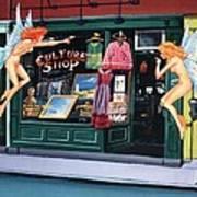 Curious Shoppers Art Print