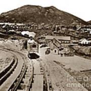 Curry Mine.virginia City Nevada.1865 Art Print