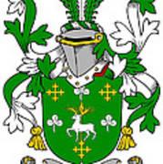 Curtin Coat Of Arms Irish Art Print