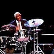 Curtis Boyd On Drums Art Print