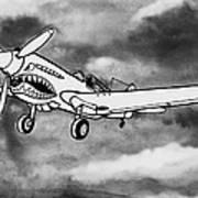 Curtiss P-40 Warhawk 2 Art Print